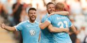Kvalmatch till Europa League mellan Malmö FF och Ballymena på Stadion. TT