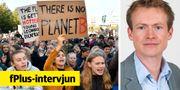 Demonstrationen i Stockholm. Henrik Montgomery/TT / TT NYHETSBYRÅN