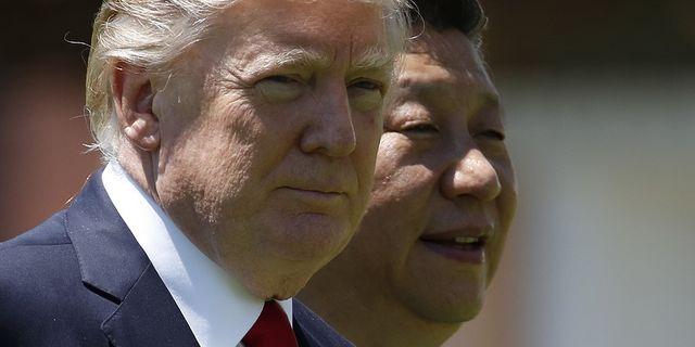 USA:s president Donald Trump och Kinas ledare Xi Jinping tidigare i år. TT