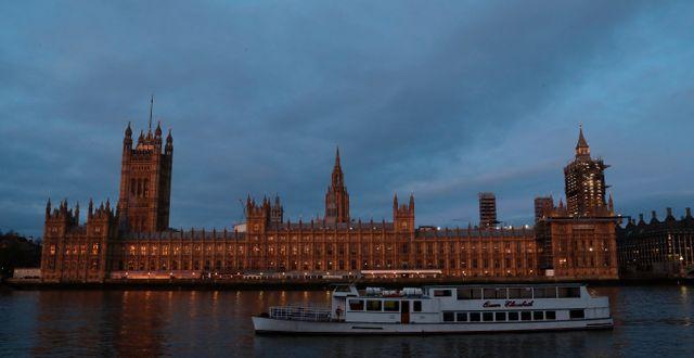 Westminsterpalatset i London. Alastair Grant / TT NYHETSBYRÅN