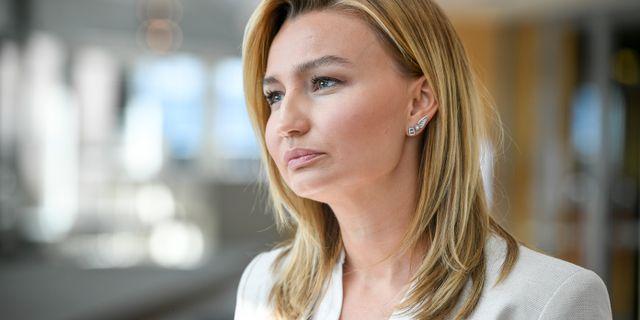 Ebba Busch, KD:s partiledare.  Ali Lorestani/TT / TT NYHETSBYRÅN