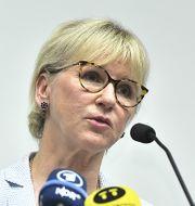 Margot Wallström (S) TT