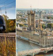 En ny nattlinje till London ska få fler att välja tåget.  Stefan Nilsson, SJ AB/Dominika Gregušová, Pexels