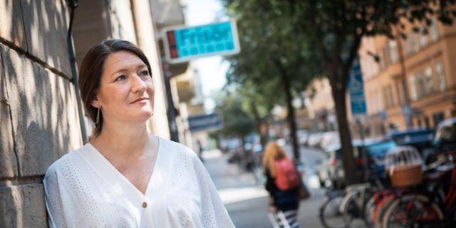 Susanna Gideonsson. Simon Rehnström/SvD/TT / TT NYHETSBYRÅN