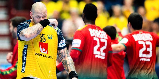 Andreas Nilsson deppar. LUDVIG THUNMAN / BILDBYRÅN