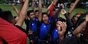 Bild från turneringen. LILLIAN SUWANRUMPHA / AFP