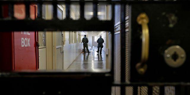 Arkivbild: Fängelse i Kalifornien. Ben Margot / TT / NTB Scanpix