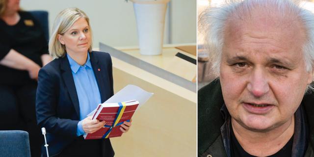 Varför är Magdalena Andersson så försiktig, undrar Dalademokratens Göran Greider. TT