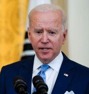 Joe Biden. Alex Brandon / TT NYHETSBYRÅN