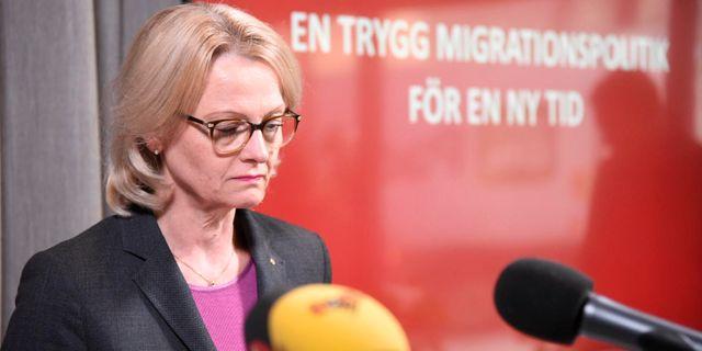 Heléne Fritzon (S). Marko Säävälä/TT / TT NYHETSBYRÅN