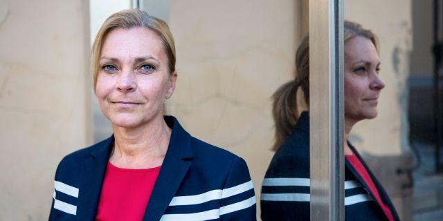 Lena Nitz. Arkivbild. Christine Olsson/TT / TT NYHETSBYRÅN
