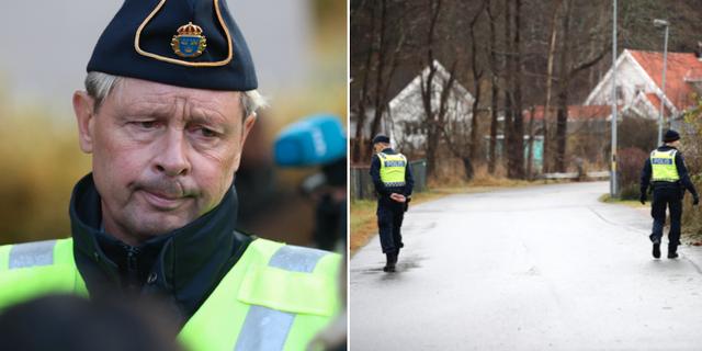 Thomas Fuxborg/Polis som söker efter Wilma Andersson. TT