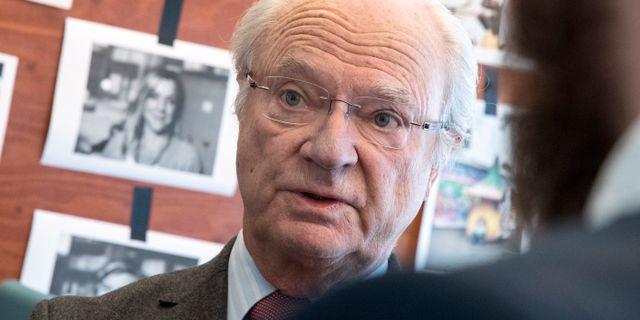 Kung Carl XVI Gustaf. Johan Nilsson/TT / TT NYHETSBYRÅN