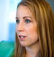 Centerpartiets ledare Annie Lööf.  Claudio Bresciani / TT / TT NYHETSBYRÅN