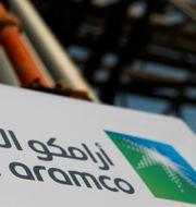 Saudi Aramcos oljeanläggning i Abqaiq.  Maxim Shemetov / TT NYHETSBYRÅN