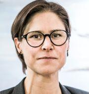 Linda Burenius, från föreningen 100 procent förnybart och Naturskyddsföreningens ordförande Johanna Sandahl.