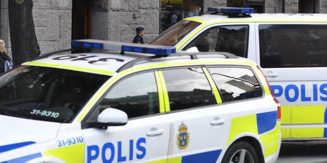 En person har hittats död i en lägenhet på Södermalm i Stockholm. Karin Wesslén/TT / TT NYHETSBYRÅN
