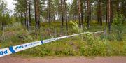 Polisavspärrning vid Orsa Rovdjurspark Ulf Palm/TT / TT NYHETSBYRÅN