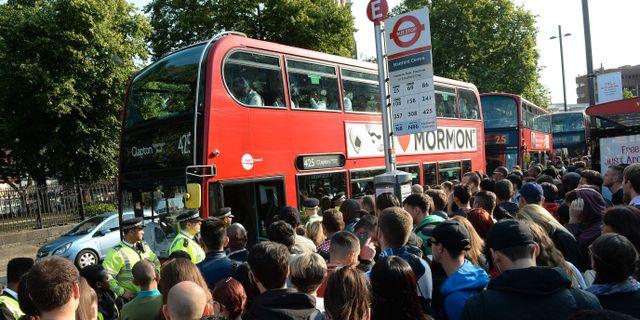 Strejk i londons t bana