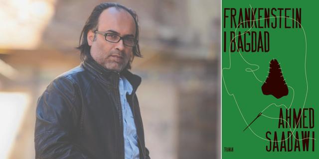 """Ahmed Sadawis """"Frankenstein i Bagdad"""" kommer nu ut på svenska. Bokförlaget Tranan"""
