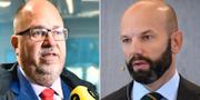 Karl-Petter Thorwaldsson och Mattias Dahl. TT