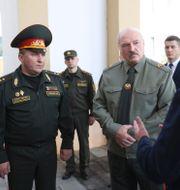 Alexandr Lukasjenko. Arkivbild. Pavel Orlovsky / TT NYHETSBYRÅN