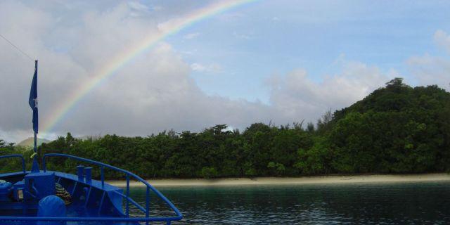 Ön Tulagi 2007. Wikimedia