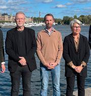 Gustaf Larsson Ernefelt, Nicklas Eriksson, Markus Larsson, Birgitta Eriksson och Peter Hjerpe. Instalco