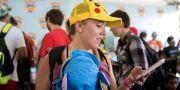 Lauren Schuster från Miami spelar Pokémon go, arkivbild. Erin Hooley / TT NYHETSBYRÅN
