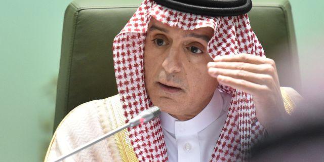 Saudiarabiens utrikesminister Adel al-Jubeir. FAYEZ NURELDINE / AFP