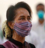 Aung San Suu Kyi. Aung Shine Oo / TT NYHETSBYRÅN