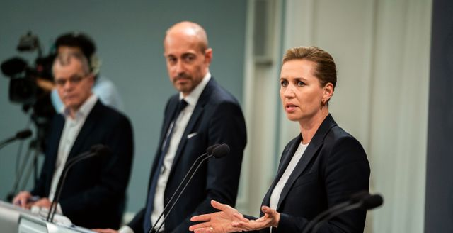 Statsminister Mette Frederiksen.   Martin Sylvest / TT NYHETSBYRÅN