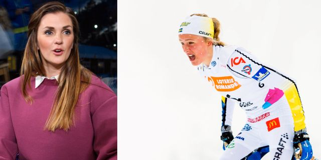 Johanna Ojala och Frida Karlsson.  Bildbyrån.