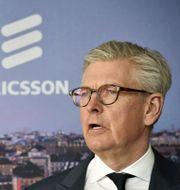 Ericssons vd Börje Ekholm. Lars Schröder/TT / TT NYHETSBYRÅN