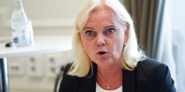 Kristina Winberg. Emil Langvad/TT / TT NYHETSBYRÅN