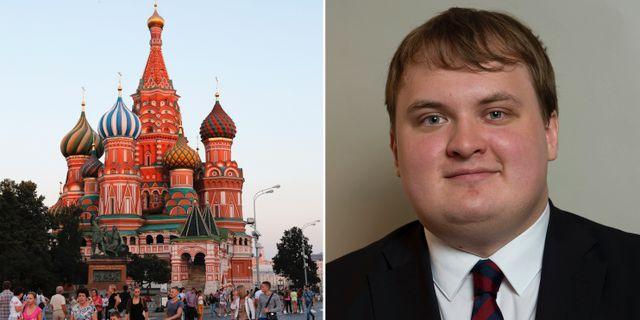 Sd topp kritiseras for bjudresa till ryssland