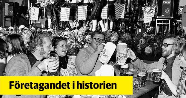 Livat värre på Tyrol.  Bild ur Gröna Lunds historiska arkiv hos Centrum för Näringslivshistoria.
