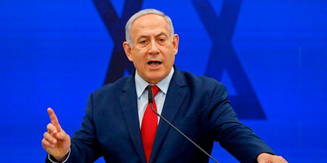 Israels premiärminister Benjamin Netanyahu. MENAHEM KAHANA / AFP