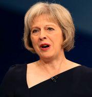 Inrikesminister Theresa May. Stefan Rousseau / TT / NTB Scanpix