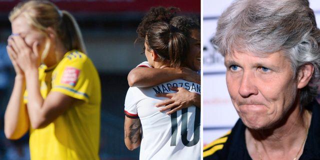 Inga svenskor i vms all star lag