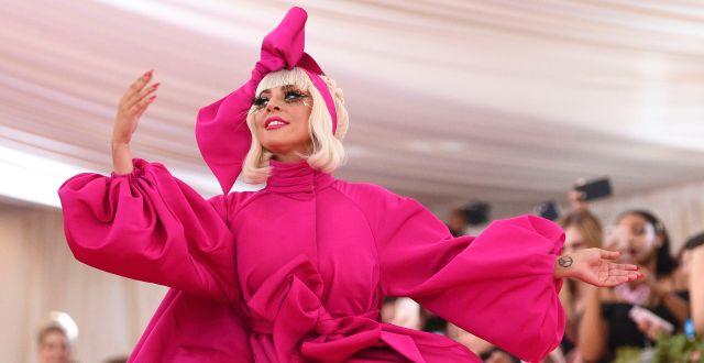 """Artisten Lady Gaga var en av initiativtagarna till """"One World""""-galan  Evan Agostini / TT NYHETSBYRÅN"""