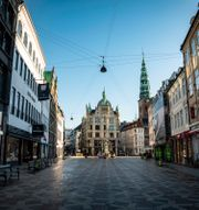 Strøget i Köpenhamn. Emil Helms / TT NYHETSBYRÅN