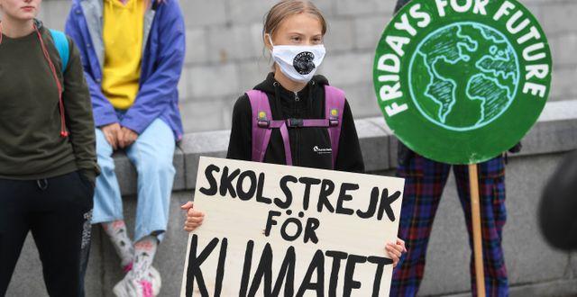 Greta Thunberg/Arkivbild. Fredrik Sandberg/TT / TT NYHETSBYRÅN
