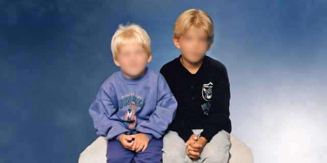 De två utpekade bröderna. SVT