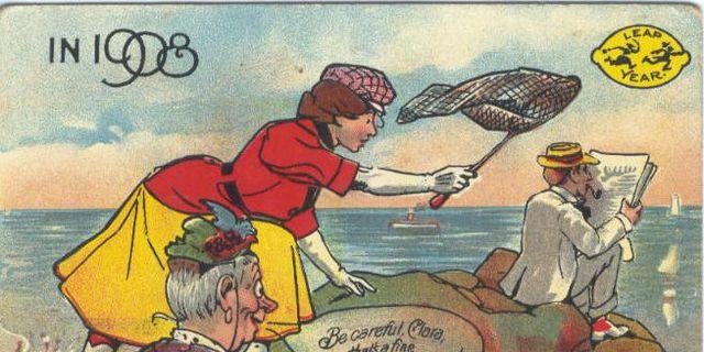 Ett vykort från 1908. Wikipedia Commons