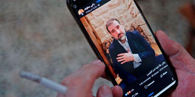 Rami Makhlouf i video i helgen. - / TT NYHETSBYRÅN