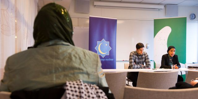 Presskonferens om regeringens plan om våldsbejakande extremism. Arkivbild.  HENRIK MONTGOMERY / TT / TT NYHETSBYRÅN