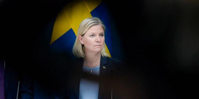 Magdalena Andersson (S).  Janerik Henriksson/TT / TT NYHETSBYRÅN