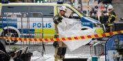 Ett brev med någon form av pulver har skickats till ett företag på Östermalm i Stockholm. Polis, räddningstjänst och ambulans har larmats till platsen. Janerik Henriksson/TT / TT NYHETSBYRÅN