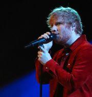 Ed Sheeran. Arkivbild.  Hannah Mckay / TT NYHETSBYRÅN